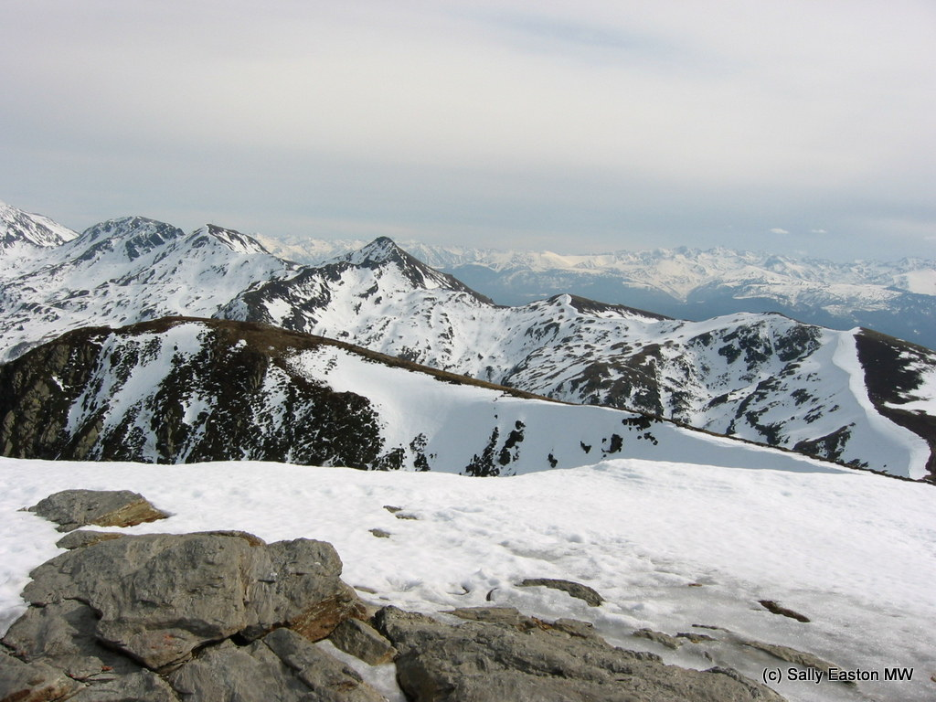 Yup, walked up there (Pyrenees)